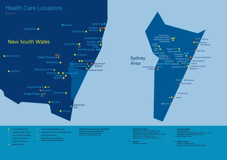 Health Care Locations